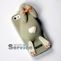 Чехол с зайчиком MOSCHINO для iPhone 5/5S/SE