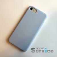 Голубой силиконовый чехол на iPhone 7