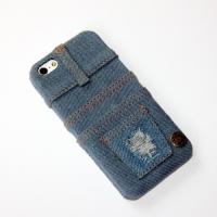 Джинсовый чехол для iPhone 5/5S/SE