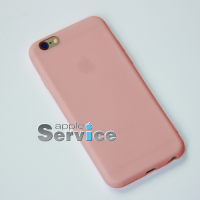 Розовый силиконовый чехол на iPhone 6/6S