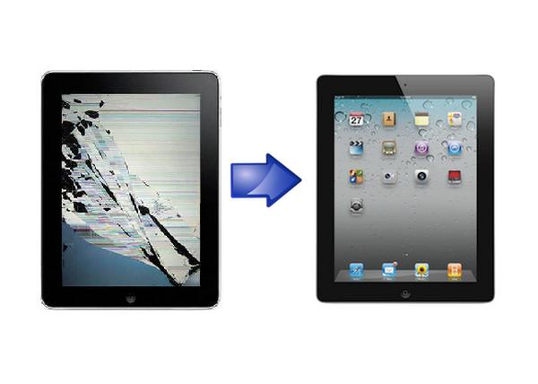 Ремонт и замена дисплея iPad в Киеве на Троещине